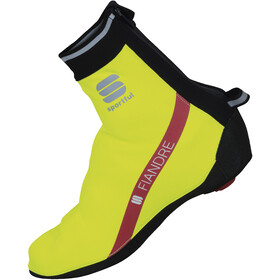 Sportful Fiandre Booties yellow fluo